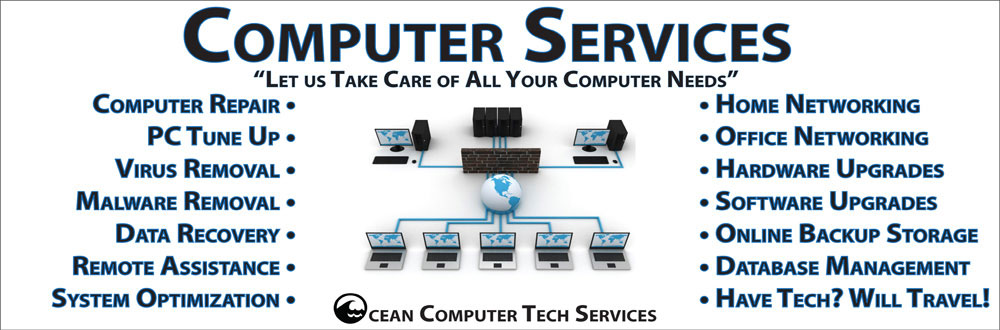 computer services flyer